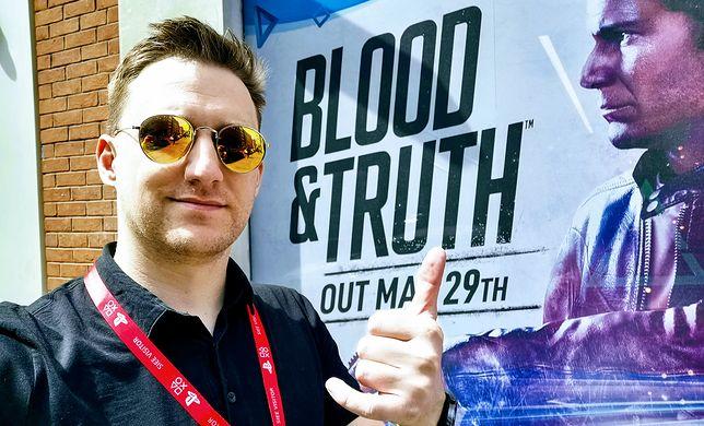 """Kamień milowy w branży rozrywkowej. """"Blood and Truth"""" na PS VR zmienia wszystko!"""