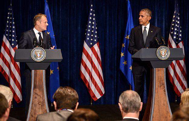 W Warszawie odbyło się spotkanie Obamy z Tuskiem i Junckerem. Tusk: ktokolwiek zaatakuje Unię Europejską, skrzywdzi Amerykę
