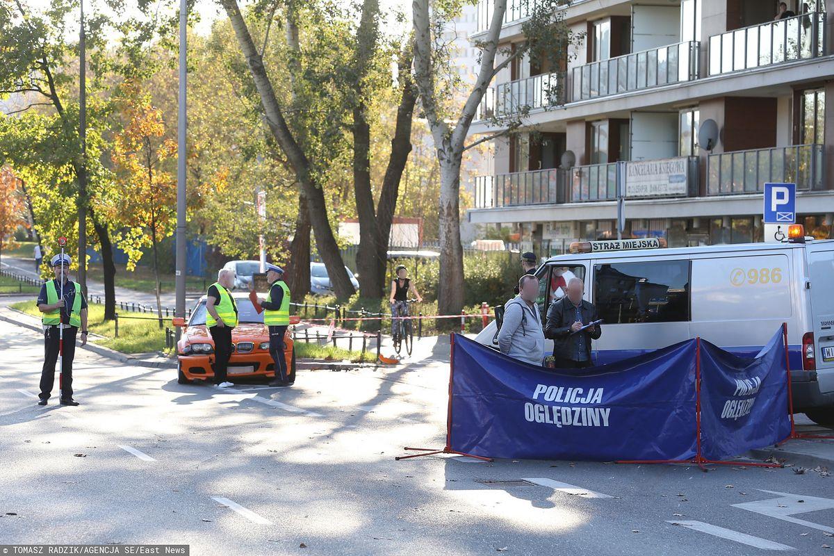 Warszawa. Wypadek na Bielanach. Ujawniamy: kierowca BMW może usłyszeć zarzut zabójstwa z zamiarem ewentualnym
