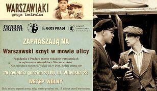 Warszawski sznyt w mowie ulicy