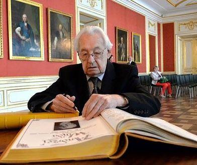Andrzej Wajda oraz Henryk Samsonowicz odebrali dyplomy Honorowego Obywatela Warszawy