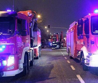Pęknięcie muru w budynku na Pradze. Mieszkańcy obawiają sie katastrofy