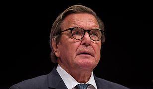 Gerhard Schroeder na liście wrogów Ukrainy