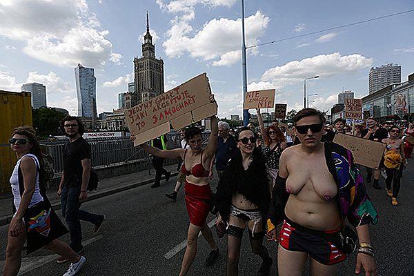 """""""Marsz Szmat"""" w Warszawie"""