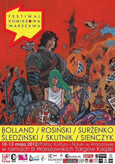 Festiwal Komiksowa Warszawa - zaproszenie i program