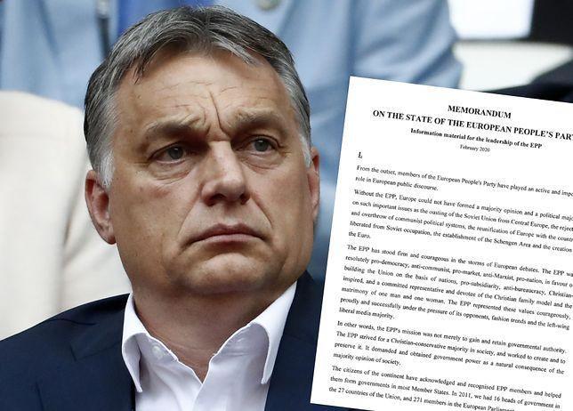 """Victor Orban ostro o Donaldzie Tusku: """"Wniósł do EPL polskie konflikty i interesy""""."""
