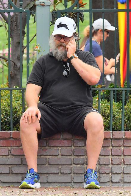 Gwiazdor został sfotografowany w Disneylandzie