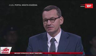 Reparacje wojenne. Morawiecki na Westerplatte: Trzeba domagać się zadośćuczynienia