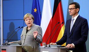 Rozmowa premiera Mateusza Morawieckiego z Angelą Merkel. Tematem szczyt Rady Europejskiej