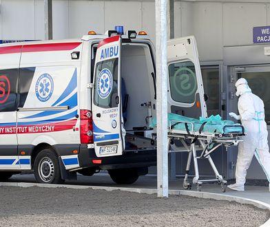 Szpital wstrzymał przyjmowanie chorych na COVID-19. Powodem zakażenia bakterią u pacjentów
