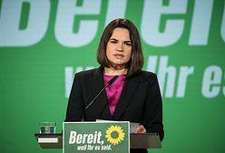Swiatłana Cichanouska w Berlinie. Wystąpiła na kongresie Zielonych (ZDJĘCIA)