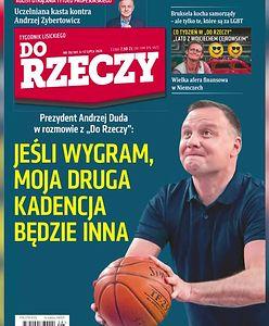 Wybory 2020. Duda z piłką na okładce. Grzegorz Schetyna drwi z nagrania prezydenta