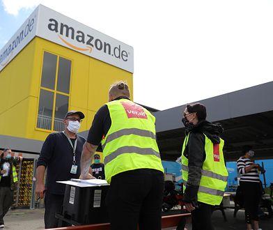 Strajk pracowników Amazona w Niemczech. Chcą lepszej ochrony przed koronawirusem
