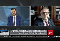 Prof. Mirosław Wielgoś komentuje słowa Julii Przyłębskiej. Jest zaskoczony