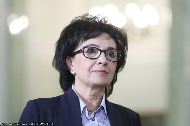 Marszałek Sejmu Elżbieta Witek o zawieszeniu posiedzenia