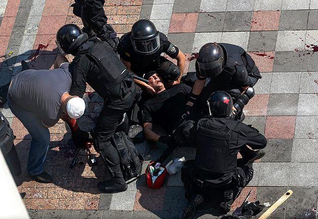 Zamieszki przed parlamentem w Kijowie. Zmarł drugi żołnierz