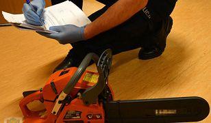 W domu 21-latka policjanci znaleźli piłę mechaniczną