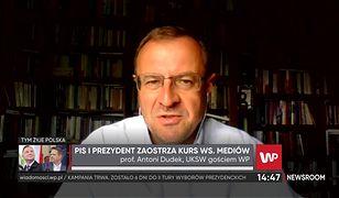 """Wybory prezydenckie 2020. Ostra reakcja Andrzeja Dudy na okładkę """"Faktu"""". Ekspert: Miał prawo poczuć się dotknięty"""