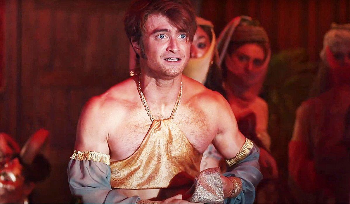Daniel Radcliffe jako egzotyczna tancerka
