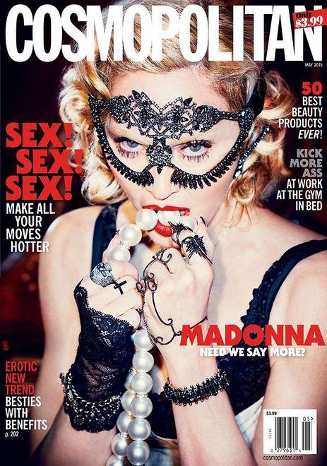 Madonna powraca na okładkę magazynu Cosmopolitan