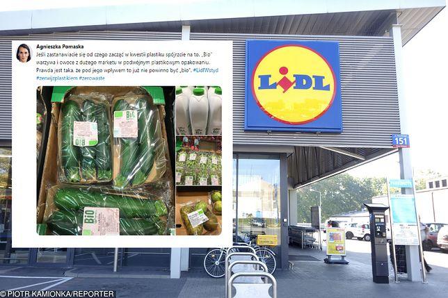 Eko warzywa i owoce otoczone plastikiem. Posłanka wywołała burzę, sieć odpowiada