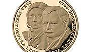 Monety złote z śp. prezydencką parą Lechem i Marią Kaczyńskimi