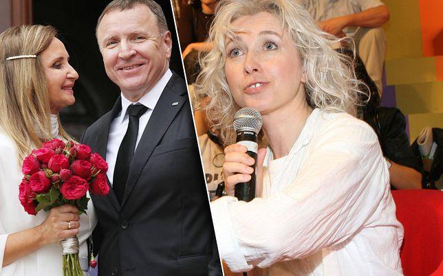 Manuela Gretkowska ostro o ślubie Kurskiego