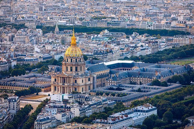 Widok na Paryż z Montparnasse
