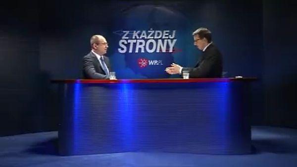 Adam Bielan o Januszu Palikocie: życzę mu jak najgorzej.