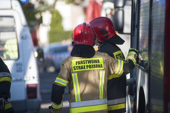 Pożar w Stobiecku Szlacheckim, zdjęcie ilustracyjne
