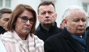 Beata Mazurek, Mariusz Błaszczak, Jarosław Kaczyński