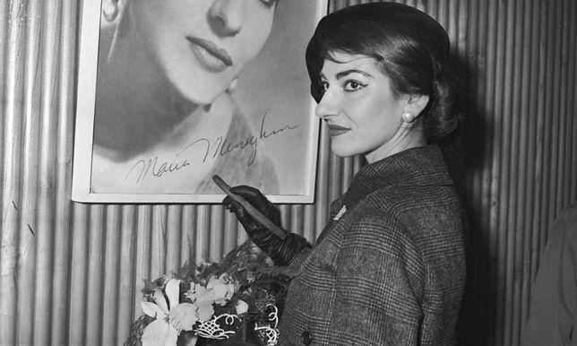Maria Callas miała wspaniały sopran.