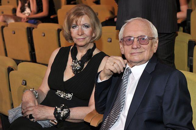 Witold Pyrkosz z żoną