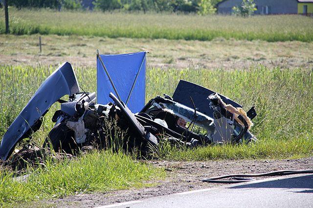 Tragedia na Mazowszu, zginęło 5 osób - zdjęcia