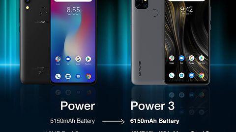 UMIDIGI Power 3 z baterią 6150 mAh, poczwórnym aparatem 48 MP i Android 10.