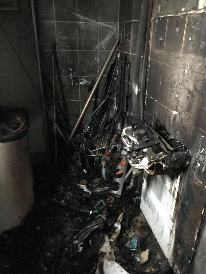 Wandale znów podpalili restaurację. Właściciele dostawali pogróżki