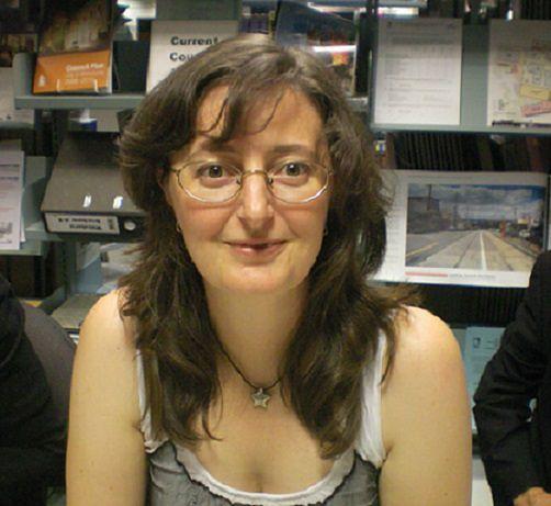 "Trudi Canavan australijska pisarka, autorka bestselleru ""Trylogia Czarnego Maga"""