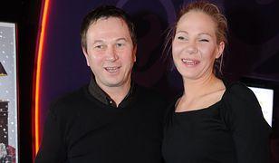 Piotr Cyrwus i jego córka Anna Maria Stachoń, fot. z 2008 r.