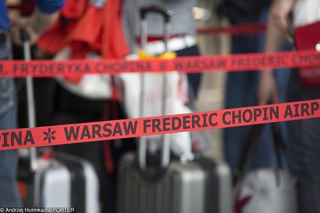 Warszawa. Hiszpanka przyleciała z Madagaskaru