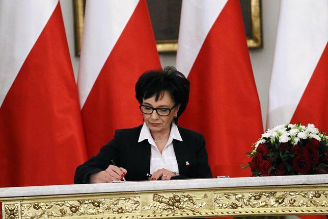 Elżbieta Witek została oficjalnie zgłoszona jako kandydatka na stanowisko marszałka Sejmu