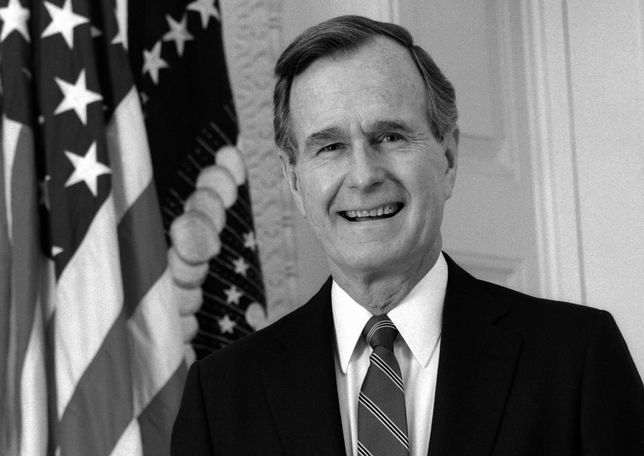 George H.W. Bush miał 94 lata