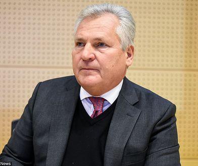 Aleksander Kwaśniewski ostrzega polityków lewicy przed zwlekaniem z zawarciem koalicji