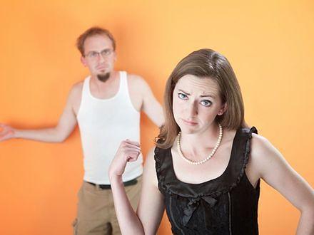 Wstydzę się mojego partnera! Co robić?