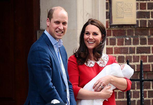 Syn Kate Middleton jest coraz większy
