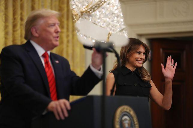 Melania Trump w modnej sukience na wiosnę