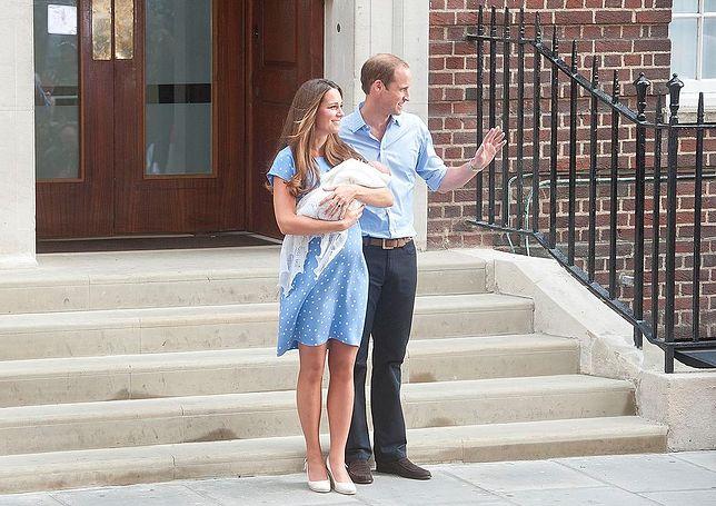 Kate Middleton i książę William. Pierwsze wyjście po narodzinach George'a