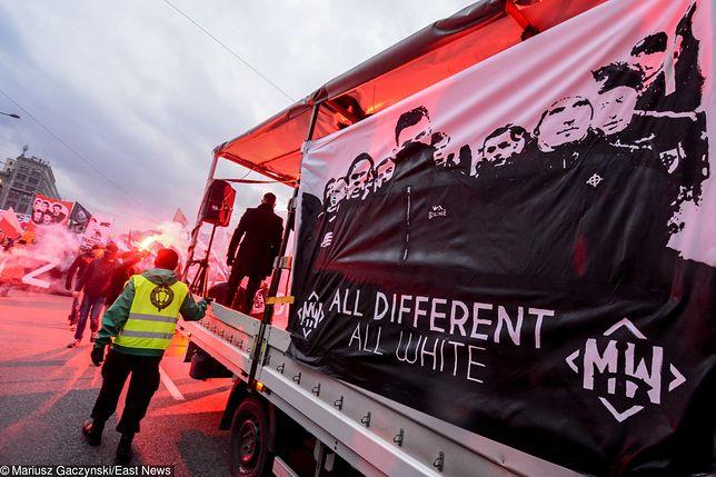 Marsz Niepodległości łączy nacjonalistów z wielu krajów