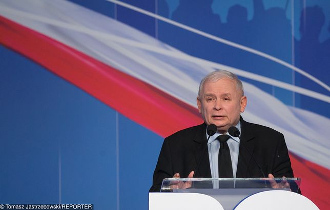 Konwencja PiS z udziałem Jarosława Kaczyńskiego