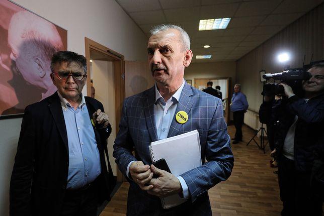 Wiceprezes ZNP Krzysztof Baszczyński jest oburzony sytuacją