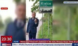 Wideo zostało pokazane w programie TVP Info na początku października